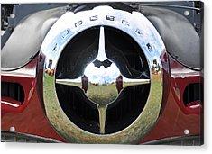 Acrylic Print featuring the photograph Studebaker Chrome by Glenn Gordon