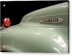 Acrylic Print featuring the photograph Studebaker by Patricia Hofmeester
