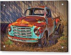 Studebaker - Pickup Truck Acrylic Print