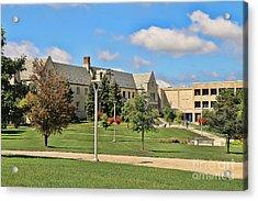 Student Union University Of Toledo  6208 Acrylic Print