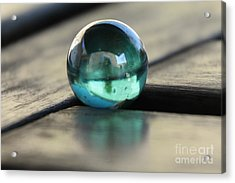 Studies In Glass ...marble Acrylic Print
