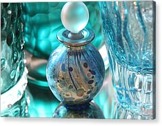 Studies In Glass...murano Acrylic Print by Lynn England
