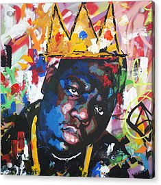 Biggie Smalls Acrylic Print