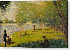 Study For A Sunday On La Grande Jatte Acrylic Print