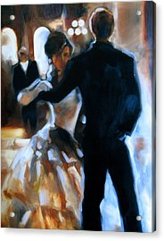 Study For Last Dance Acrylic Print by Stuart Gilbert