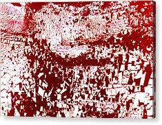 Study For Na Two Everybody Run Acrylic Print by Kika Pierides