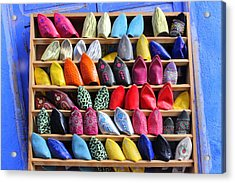 Acrylic Print featuring the photograph Study In Color by Ramona Johnston