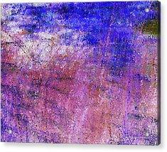 Study Of Brush Acrylic Print