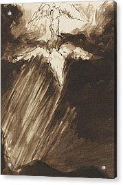 Study Of Jacob's Dream Acrylic Print