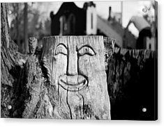 Stump Face 1 Acrylic Print