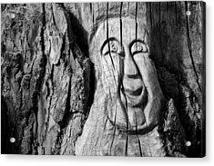 Stump Face 3 Acrylic Print