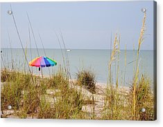 Stump Pass Beach State Park Acrylic Print by Steven Scott