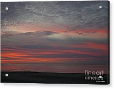 Stunning Cape Charles Sunset Acrylic Print by Tannis Baldwin