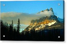 Stunning Mountain Acrylic Print by Mario Brenes Simon