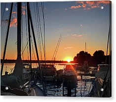 Sturgeon Bay Sunset Acrylic Print