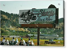 Sturgis City Of Riders Acrylic Print