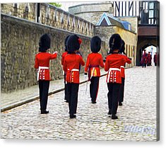 Step Aside For The Tower Guard Acrylic Print