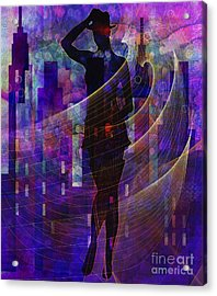 Stylin5 Acrylic Print by Sydne Archambault