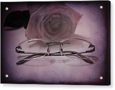 Stylish Specs Acrylic Print by Rozalia Toth
