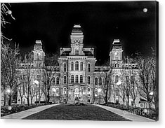 Su Hall Of Languages Acrylic Print
