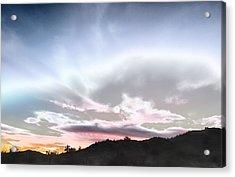 Submarine In The Sky Acrylic Print