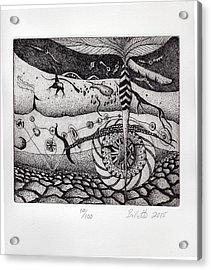 Subterranean Acrylic Print