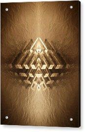 Subtle Geometrix Acrylic Print