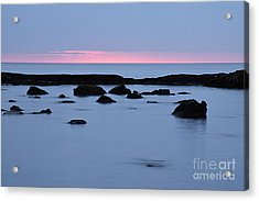 Acrylic Print featuring the photograph Subtle Sunrise by Larry Ricker