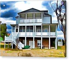 Suburban Home 1 Acrylic Print by Lanjee Chee