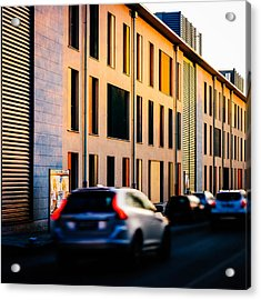 Suburbs Acrylic Print by Cesare Bargiggia