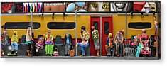 Subway - Lonely Travellers Acrylic Print