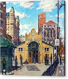 Subway At 72nd Street Nyc Acrylic Print