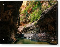 Subway Canyon Acrylic Print