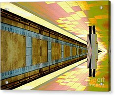 Subway Man Acrylic Print