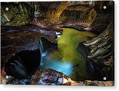Subway Pools Acrylic Print