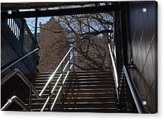 Subway Stairs Acrylic Print by Rob Hans