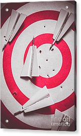 Success And Failures. Business Target Acrylic Print by Jorgo Photography - Wall Art Gallery