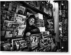 Sudoku Corner... Acrylic Print