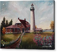 Acrylic Print featuring the painting Suel Choix Light by Brenda Thour
