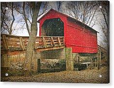 Sugar Creek Covered Bridge 3 Acrylic Print