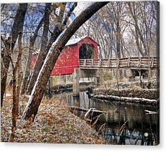 Sugar Creek Covered Bridge4  Acrylic Print