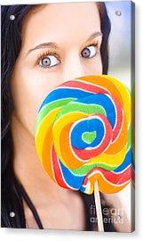 Sugar High Acrylic Print