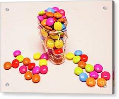 Sugar Skull Candy Jar Acrylic Print by Jorgo Photography - Wall Art Gallery