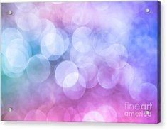 Acrylic Print featuring the photograph Sugared Almond by Jan Bickerton