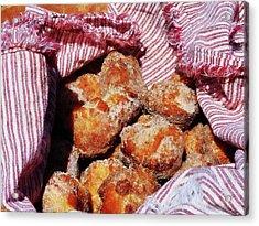 Sugared Donut Holes Acrylic Print by Susan Savad