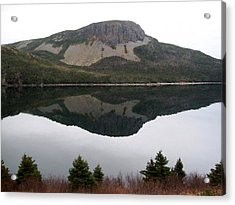 Sugarloaf Hill Reflections Acrylic Print by Barbara Griffin