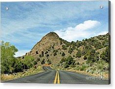 Acrylic Print featuring the photograph Sugarloaf Mountain In Six Mile Canyon by Benanne Stiens