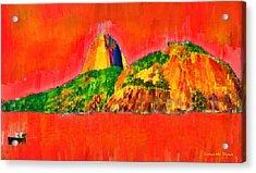 Sugarloaf Of Rio 22 - Da Acrylic Print