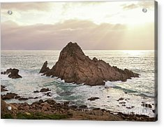 Acrylic Print featuring the photograph Sugarloaf Rock Sunset by Ivy Ho