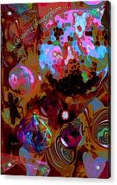 Sugarplums Acrylic Print